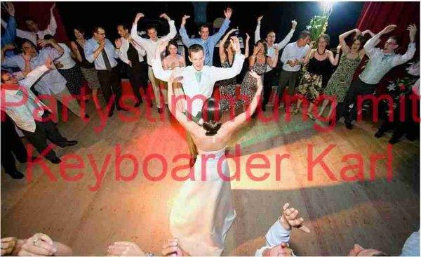 musiker Bergheim Keyboarder Karl als Alleinunterhalter und Party DJ für jede Hochzeit und jeden Geburtstag im Kreis Bergheim