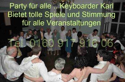 Alleinunterhalter Heinsberg und Party DJ Heinsberg Keyboarder Karl